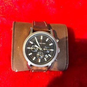 Men's Michael Kors Watch - brown leather band